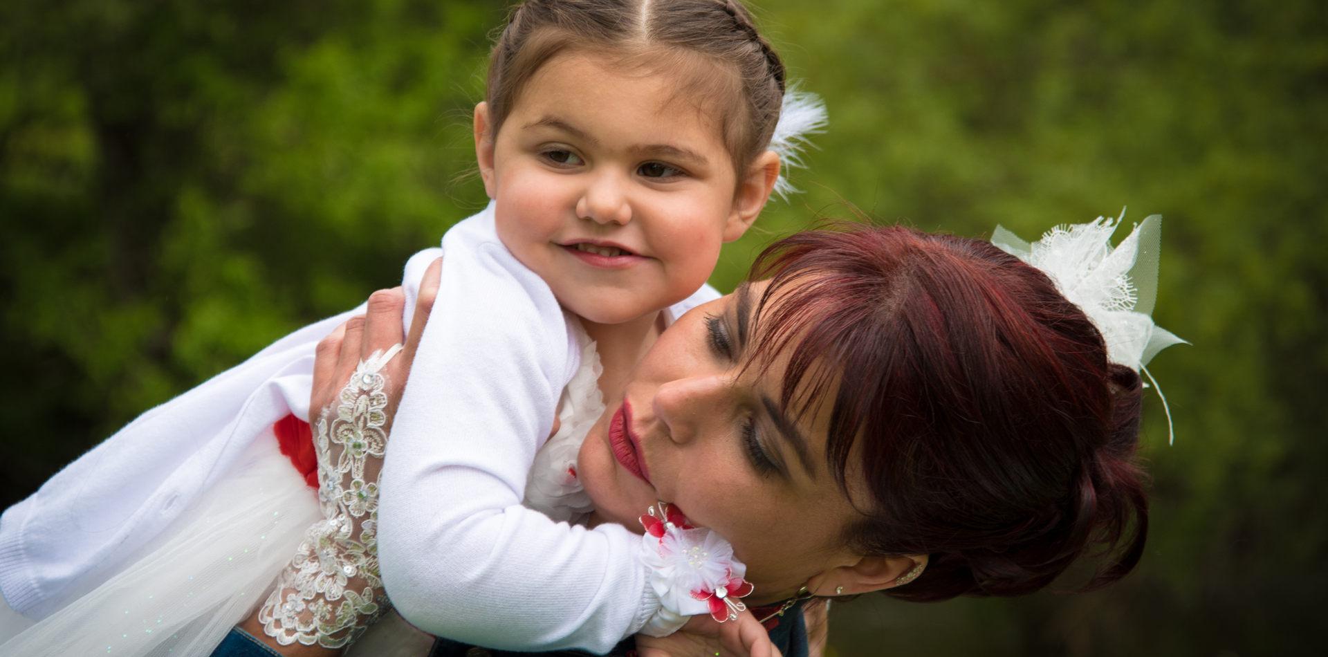 la mariée et sa fille
