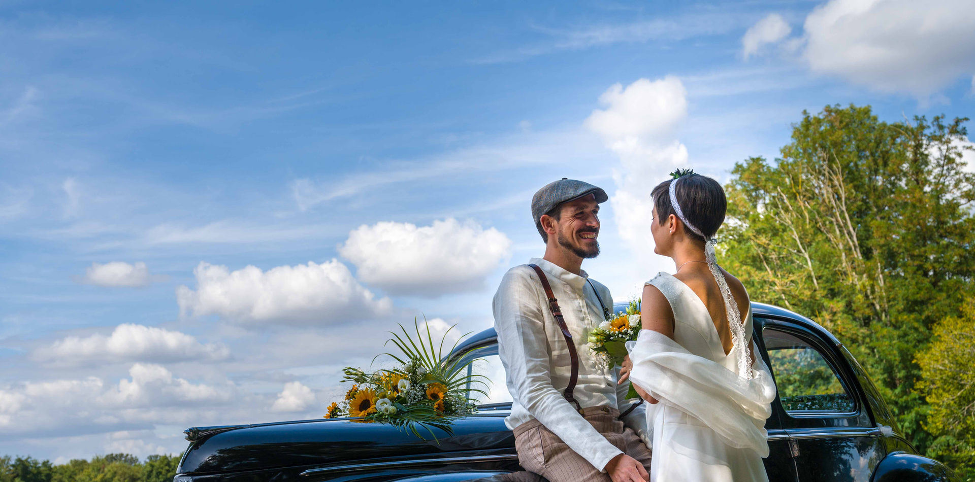 la voiture des mariés par VincentBidault