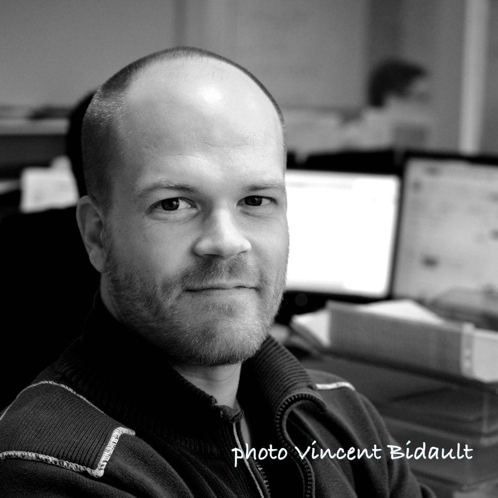 Portrait photo de Vincent Bidault