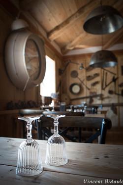 détail d'un restaurant : BIDAULT Vincent photographe