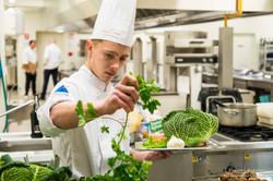 choix des ingrédients pour un apprenti cuisinier