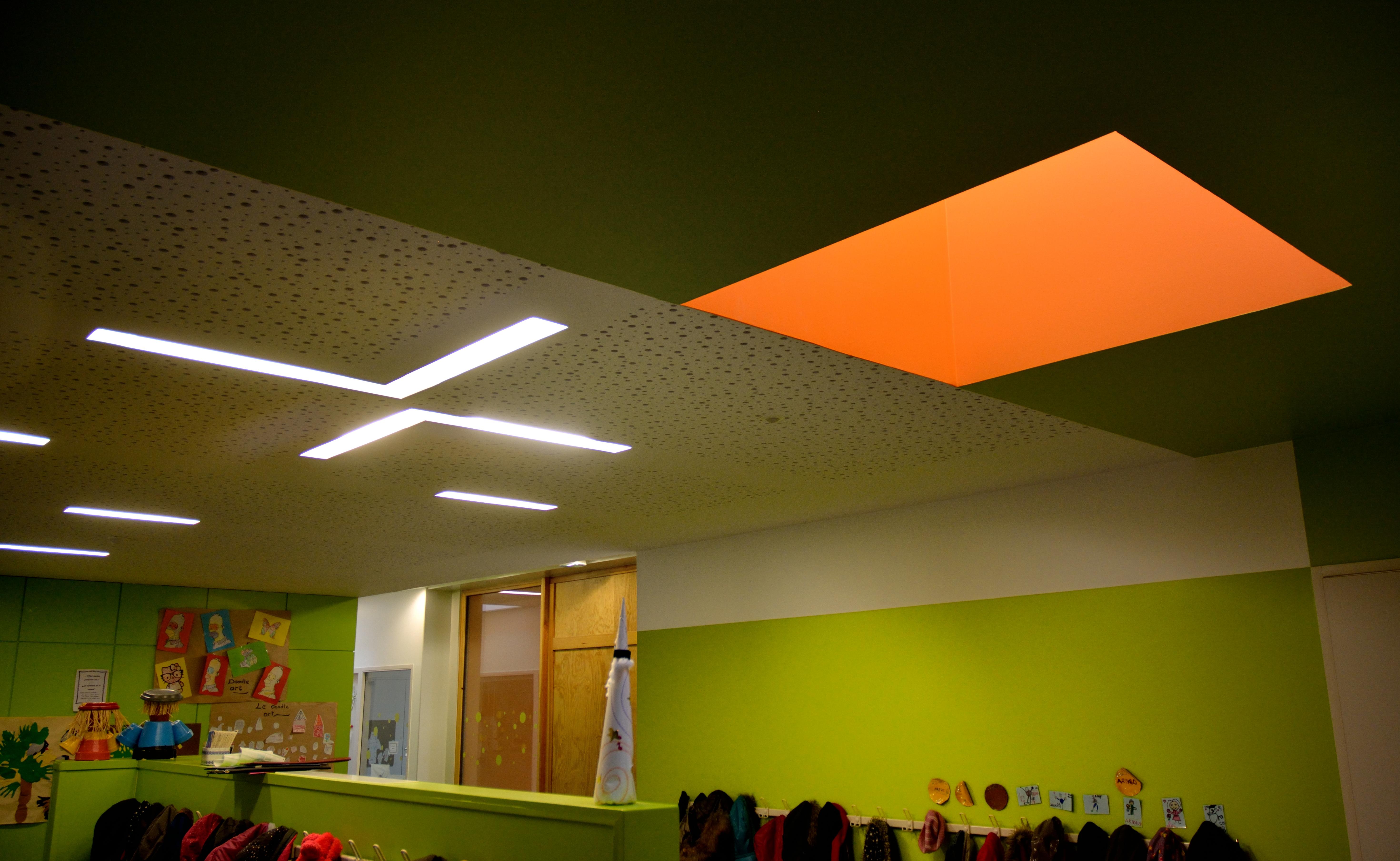plafond détail architecte