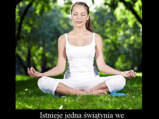 Nasze Ciało jest jak świątynia...