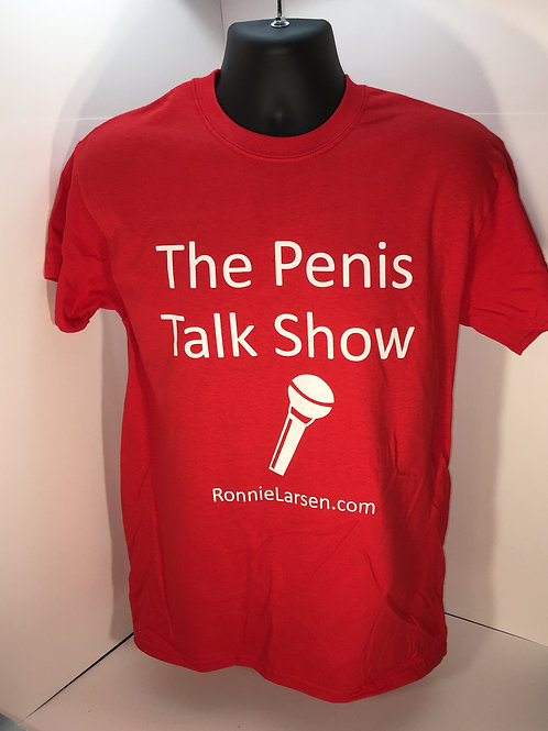 The Penis Talk Show - T-shirt