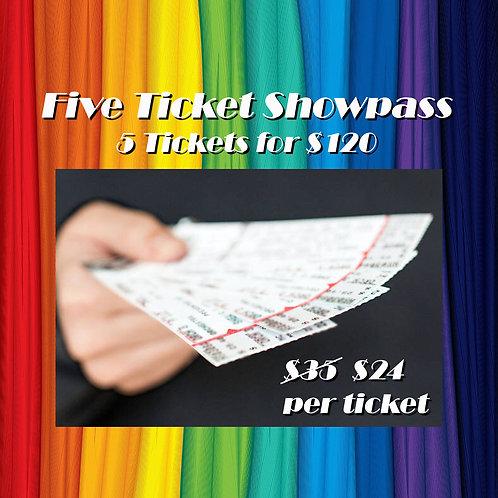 5 Ticket Showpass