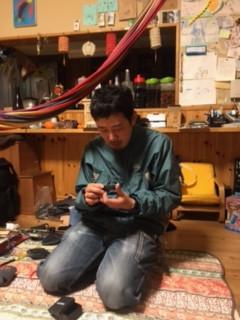 Honoka passes it off to Shizouka in Kyoto, Japan