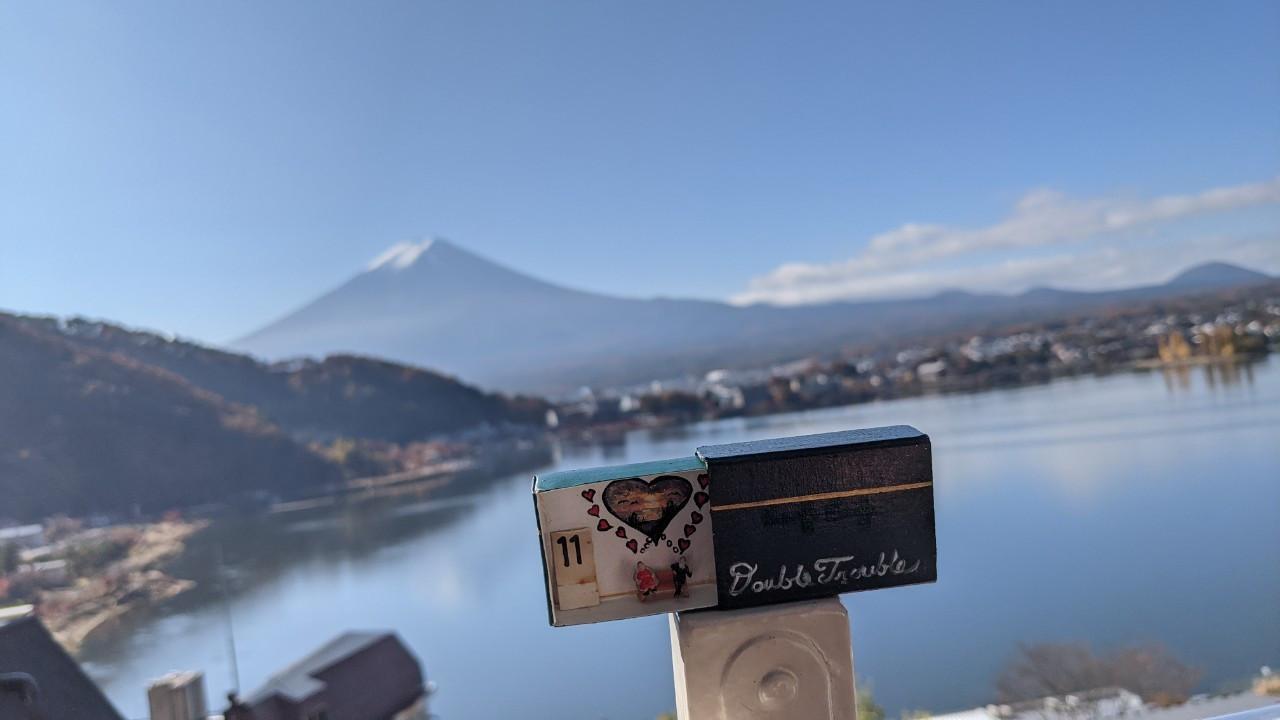 Yamanashi prefecture Kawaguthi, lake mount FUJI