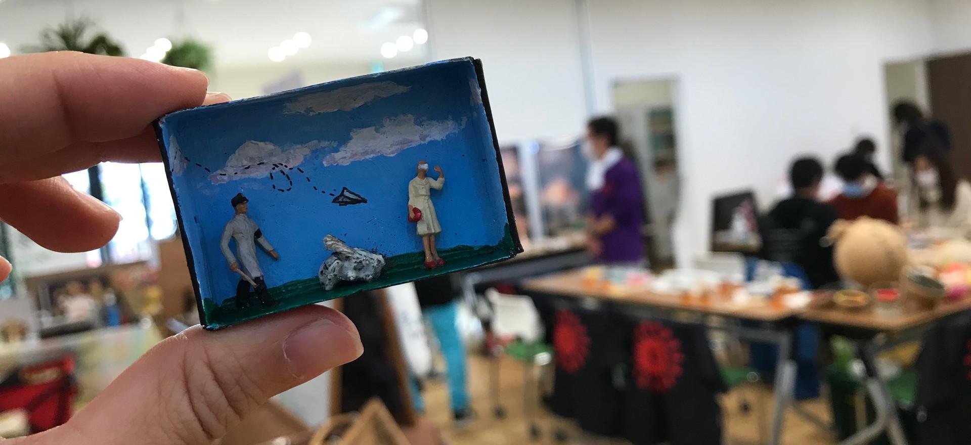 """Kokeshi Marche"" Kokeshi Doll cherity event, born in the wake of the Okayama flood (2018)."