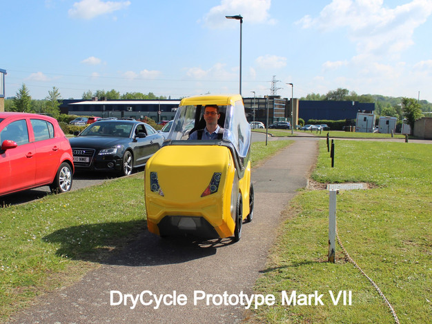 DryCycle on Cycle Path