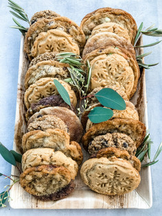 Large Cookies Plate 2 Dozen