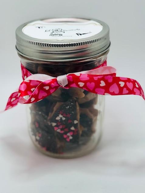 1/2 Pound Toffee in Jar Gift