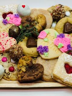 Sweeties over endulgent Valentines Sampler