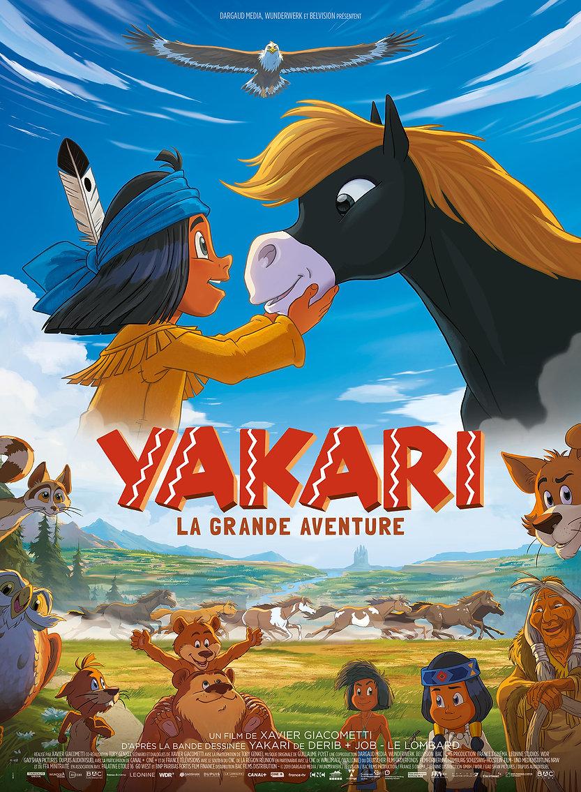 Yakari le film  the movie affiche poster