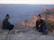 Master Bing's first time seeing the Grand Canyon