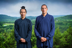 Teacher and student. Master Bing and Jason, June 2019. Photo by www.ECR3.com