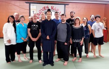 Wudang 5 Animal Qigong seminar with Master Bing in Eureka Springs, Arkansas 2019