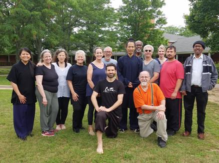 Wudang Taiji 13 seminar in Fayetteville, Arkansas 2019