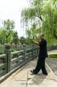 Practicing at Yu Xu Gong, Wudangshan, Hubei, China 2016