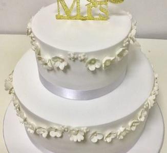 High Society Wedding Cake