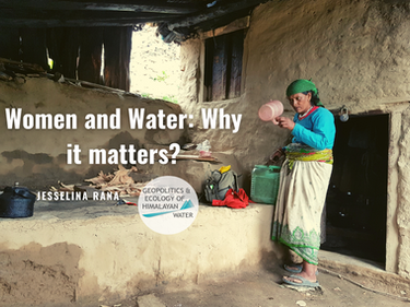 Women and Water: Why it matters?