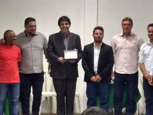 Câmara e prefeito de Rancho Alegre entregam Título de  Cidadão Honorário a Mauricio Reis Koch