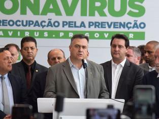 Governo do Paraná anuncia medidas para enfrentamento ao coronavírus
