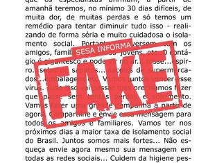 #Verificamos: É FALSA mensagem do secretário Beto Preto sobre pico da pandemia no Paraná