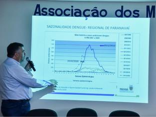 Para prefeitos do NOROESTE DO PARANÁ o Secretário Beto Preto fala sobre as ações do Estado no combat