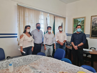 Beto Preto participa de vacinação em São Jerônimo da Serra