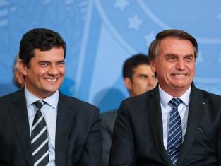 Bolsonaro diz que 'chance é zero' de desmembrar ministério de Moro
