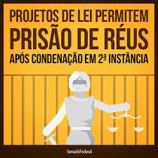Projeto de Lei garante prisão em Segunda Instância