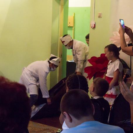 Семейный праздник в Новоильинском СДК