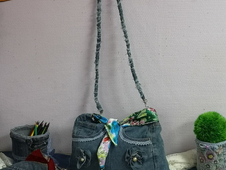 Старые джинсы – новые идеи