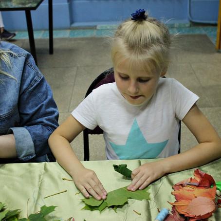 Секреты оригами из листьев