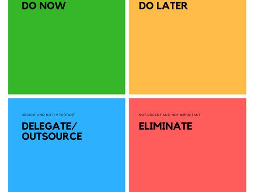 Time pressed startups should use the Eisenhower Matrix