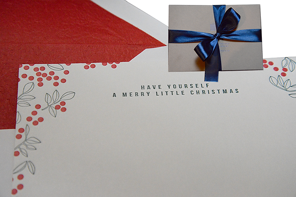 Box of holiday cards - 2 motifs