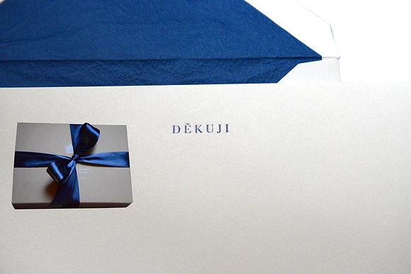 Box of Thank you / Děkuji cards