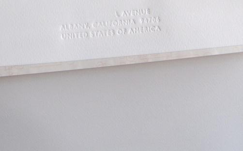 Vnější obálka / Outer envelope