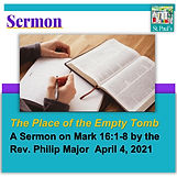SERMON  April 4 the place of the empty t