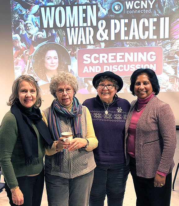 feminist FFF  theology at wcny march 18