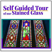 Self Guided Tour of stained glass SG Log