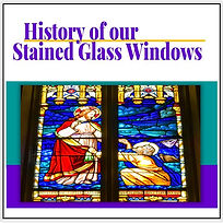 history of our stained glass windows SG
