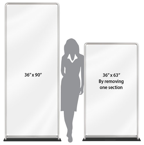 Hallway & Room Portable Partitions Option 3