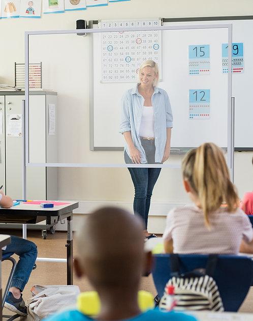 Rolling Teacher/Professor  Shield