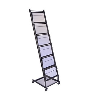 Our Rolling Literature Display Rack