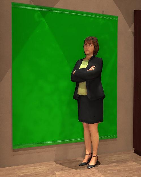 Instructor Green Screen-101