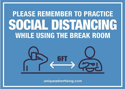 Please Remember Social Distancing