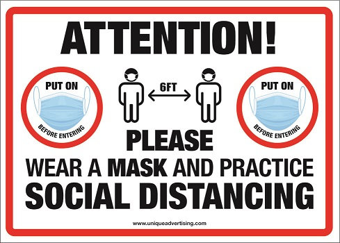 Attention Social Distancing