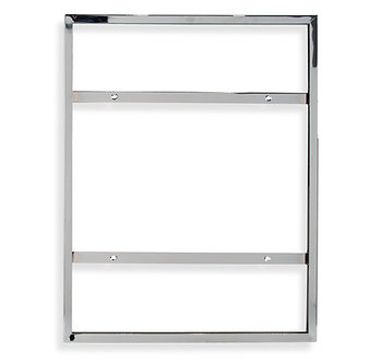 "28""H x 22""W Vertical Sign Holder for Wall Mount"