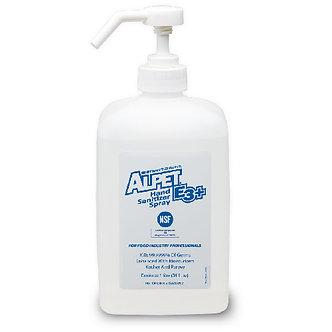 E3 Plus Hand Sanitizer Spray w/pump, 1-Liter